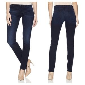 7 for All Mankind High Waist B(air) Skinny Jeans